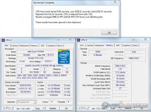 PoV Ray @ 4.2 GHz CPU / 3600 MHz Memory