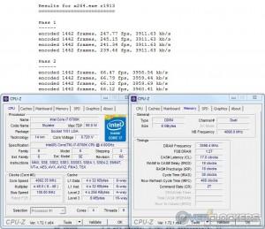 x264 @ 4.8 GHZ CPU / 3600 MHz Memory