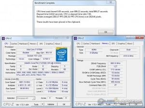 PoV Ray @ 4.8 GHZ CPU / 3600 MHz Memory