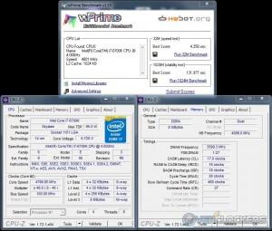 wPrime @ 4.8 GHZ CPU / 3600 MHz Memory