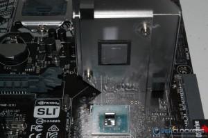 PCH Heatsink Removed