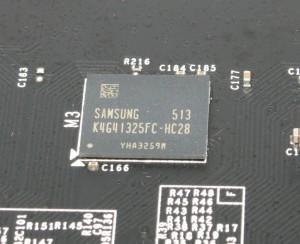 Samsung DDR5 - K4G41325FC-HC28