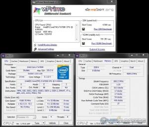 wPrime @ 4.2 GHz CPU / 3333 MHz Memory