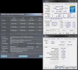 AIDA64 @ 4.2 GHz CPU / 3333 MHz Memory