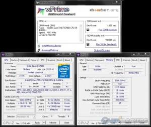 wPrime @ 4.2 GHz CPU / 3600 MHz Memory