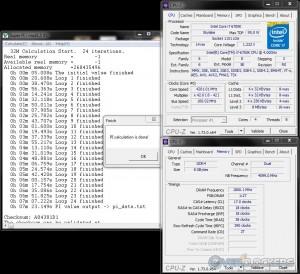 SuperPi 32M @ 4.2 GHz CPU / 3600 MHz Memory
