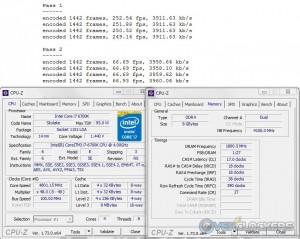 x264 R10 @ 4.8 GHz CPU / 3600 MHz Memory