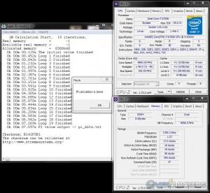SuperPi 1M @ 4.8 GHz CPU / 3600 MHz Memory