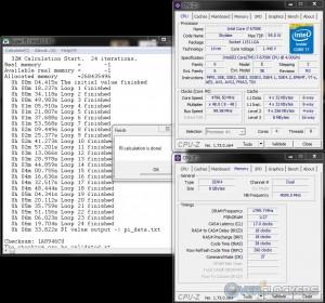 SuperPi 32M @ 4.8 GHz CPU / 3600 MHz Memory