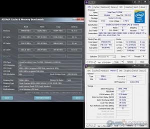AIDA64 @ 4.8 GHz CPU / 3600 MHz Memory