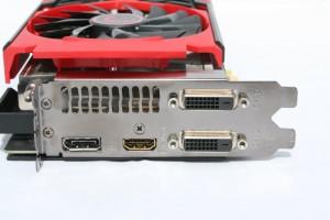 Outputs - 2 DVI, 1 HDMI, 1 DisplayPort