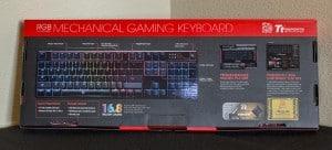 Keyboard Packaging - Rear
