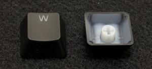 Closeup of Keycaps
