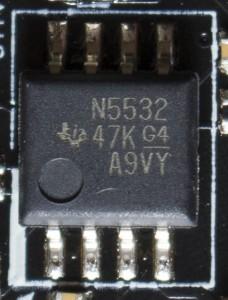 TI N5532 OpAmp