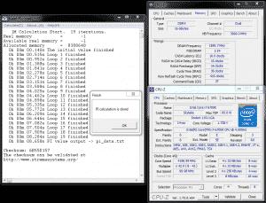 SuperPi 1M @ DDR4-3200 16-16-16-36