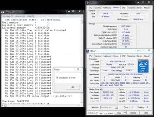 SuperPi 32M @ DDR4-2800 16-18-18-36
