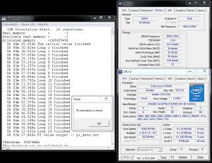 SuperPi 32M @ DDR4-3200 16-16-16-36