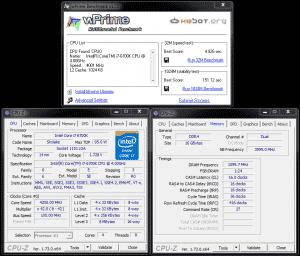 wPrime @ DDR4-3200 16-16-16-36