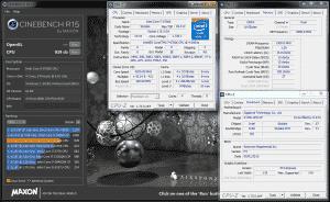 Cinebench R15 @ 4.2 GHz