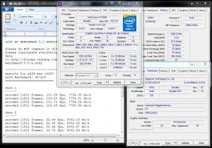 x264 @ 4.7 GHz