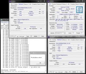 SuperPi 32M 4.7GHz