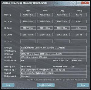 AIDA64 @ 4.8 GHz