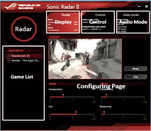 Sonic Radar II