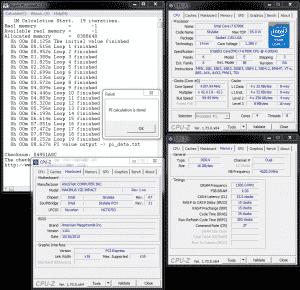 SuperPi 1M @ 4.2 GHz