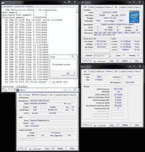 SuperPi 32M @ 4.2 GHz