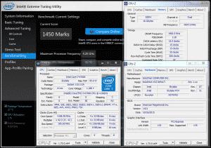 Intel XTU @ 4.2 GHz