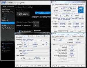 Intel XTU @ 4.8 GHz