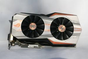 ASUS ROG Matrix GTX 980 Ti Platinum - Front