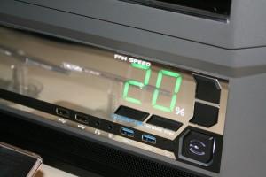 Fan Controls, Front Panel