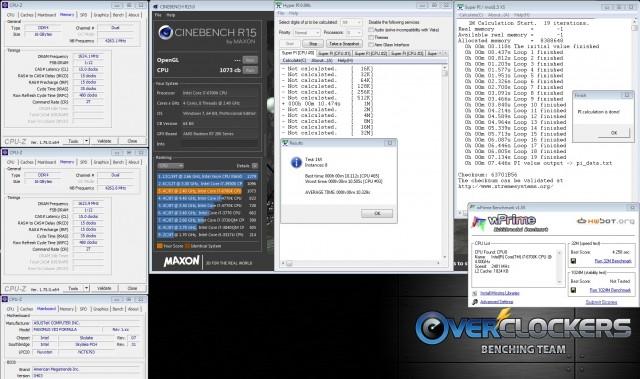 4.872 GHz / 3200 MHz+ / 200+ BCLK