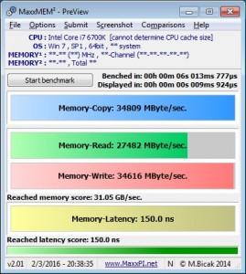 MaxxMEM 4.7GHz