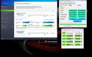 NVMe speeds