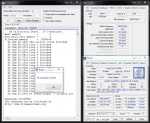 Single-Threaded HyperPi 1M @ 4.8GHz