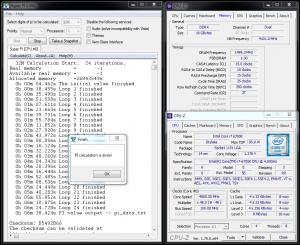 Single-Threaded HyperPi 32M @ 4.8GHz