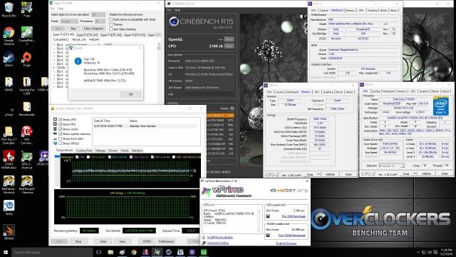 4.2 GHz, 3200 MHz Memory 1.20V