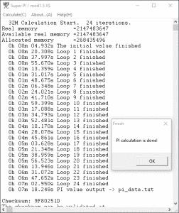 SuperPi 32M 4.5GHz