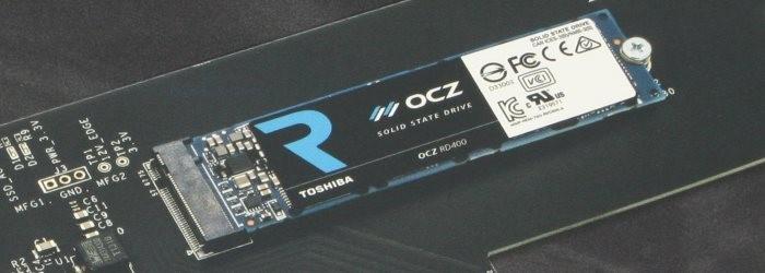 Toshiba OCZ RD400 512GB M.2 PCIe SSD Review
