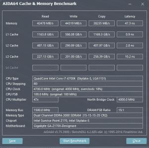 AIDA 4.7GHz