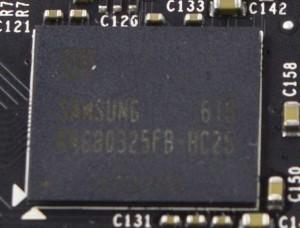Samsung vRAM Chip