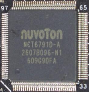Nuvoton NCT6791D Super I/O