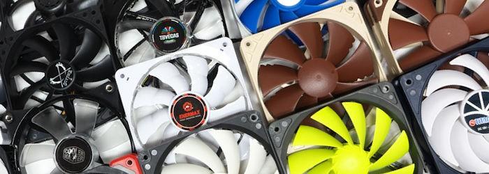 PWM Fan Roundup: Twenty-Four 120 mm Case Fans Tested