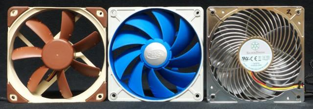 case fan array