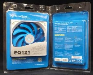 FQ121 Packaging, Silverstone 120 mm PWM fans