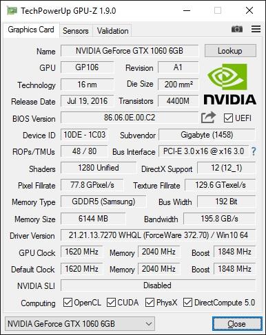 GPU-Z v1.10