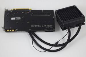 EVGA GTX 1080 FTW HYBRID GAMING - Back