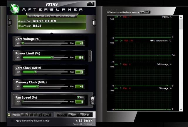MSI Afterburner v4.3.4 beta (old skin)